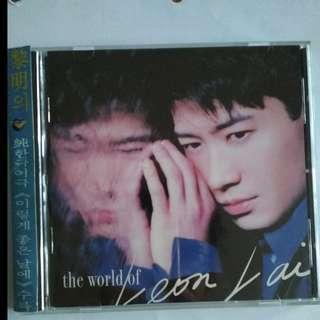 黎明 CD The world of Leon Lai