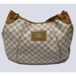 926a3b13bf Authentic Louis Vuitton Galliera PM Damier Azur White shoulder bag
