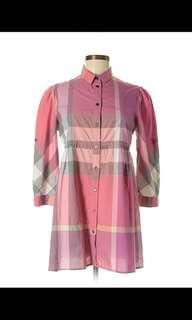 🚚 Burberry Brit Pink Tunic Blouse
