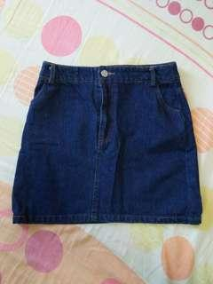 Editor's Market Brand Denim Skirt