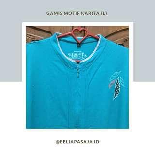 Gamis Motif Karita (L/XL)