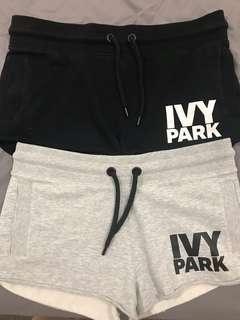 2 Ivy Park Shorts Size M
