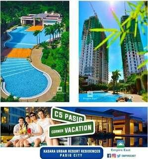 14k Pre-Selling, 22k Ready For Occupancy Rent To Own At Kasara Urban Resort Residences Near Ugong, A.Sandoval, Rosario, Maybunga, Kalawaan, San Joaquin, P.E Antonio, Valle Verde, Eastwood, Ortigas