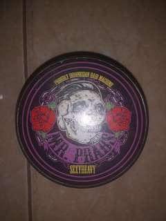 Pomade/Gel rambut MR.PRABS anggur/grape