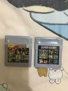 Gameboy 合一遊戲 二盒