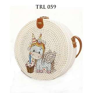 Rattan Bag Little Unicorn
