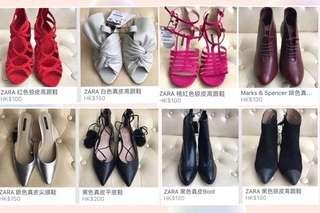 全新女裝真皮皮鞋