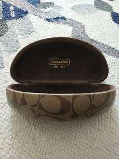 Original COACH sunglasses casing