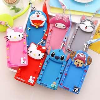 🧡 SPECIAL PROMOTION PRICE - Silicone Cartoon Card Holder 💜