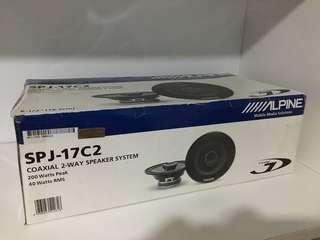 Alpine Speaker SPJ-17C2 2-Way