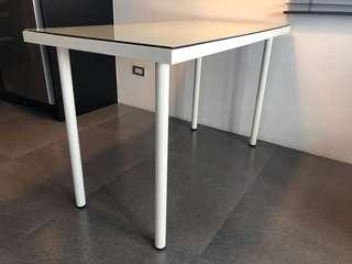 Ikea Table with Glass Too