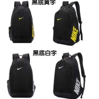耐克雙肩包新款大容量校園學生書包男女簡約運動旅行背包