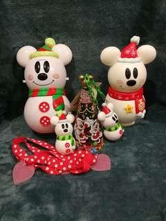 Christmas Mickey Snowman Collection
