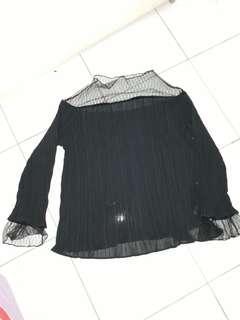 Black sexy mesh