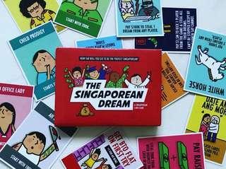 (New Stock!!!) The Singaporean Dream Card Game