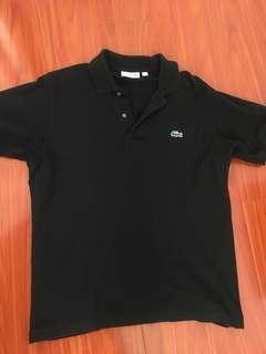 Lacoste Polo (Black)