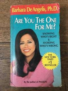 Are you the one book