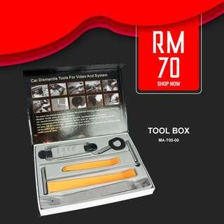 Car dismantle tools box for Audio and Video system