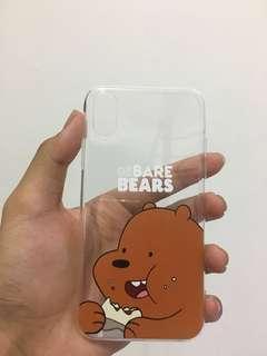 IPHONE X case - we bare bear