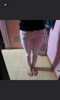 Freeong Reprice Soft Jeans Baby Pink