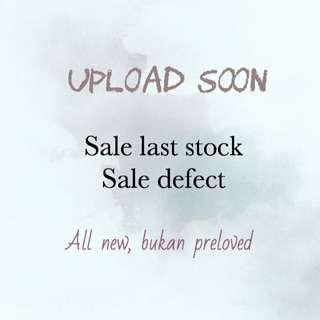Clearance & defect sale!
