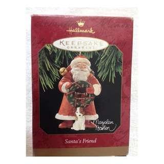 Christmas Ornament - Santa's Friend