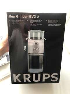 Krups 磨豆機 磨咖啡豆機 全新