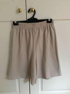 Grey Cullotte Shorts size XS/S