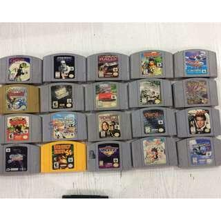 Nintendo 64 Games (US Version) Original Nintendo Cartridge