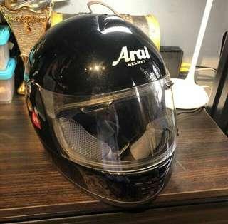 Arai SV Gloss Black size L full face helmet