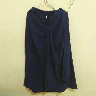 Navy Skirt Ribbon