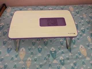 Laptop foldable table top