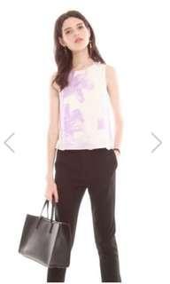 BNWT: ACW floral top lilac