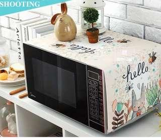 2 pcs Decor cloth for side table cabinet microwave oven