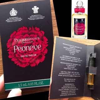RARE: Penhaligon's Peoneve Eau De Parfum Sample