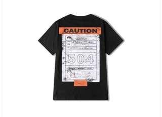 Caution Graphic Tee
