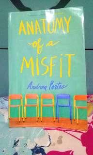 Anatomy of a Misfit, by Andrea Portes, Paperback