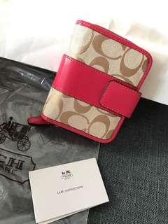 Coach authentic wallet