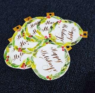 🚚 Greeting Gift Tags