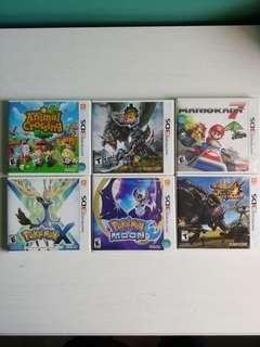 Games for 3DS XL