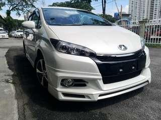 Unregistered - Toyota Wish 1.8 (A) S-spec, Year 2013