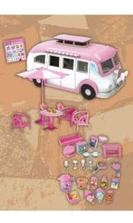 Stylish food trucks - pink/brown from Japan toreba