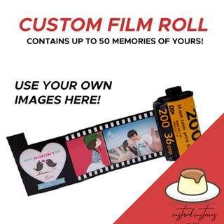 [#1 GIFT IDEA] Customisable Vintage Roll Film!