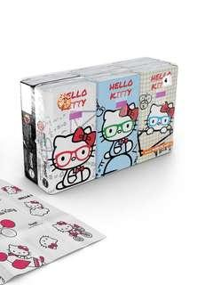Hello Kitty Tissue pack 10pk