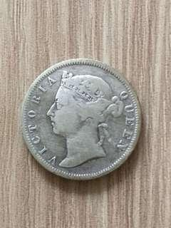 Old Coin - 1899 Queen Victoria