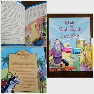 Buku Anak Kisah Shahabiyah dan Tabiiyah