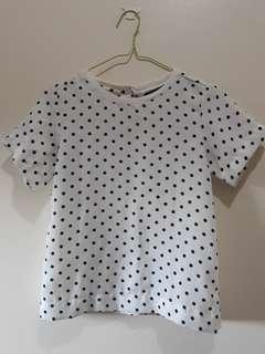 Forme Dotted Blouse