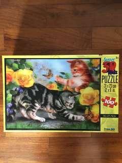 Super 3D Cats Jigsaw Puzzle