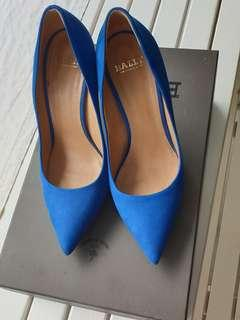 Bally Blue Suede Shoes