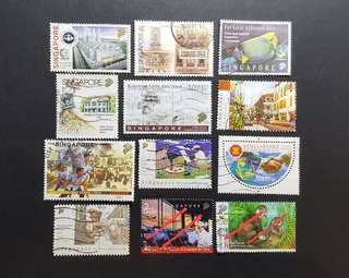 Singapore Stamps local postage (8 pages)